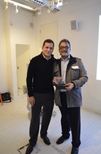 Swiss Cottage fleet owner Raj with Kabbee's CEO